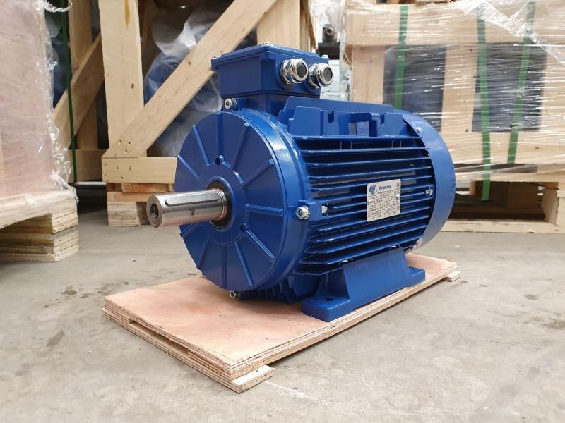 Elektrimootor 15,0kW/3000 p/min T3A 132M3-2 B3; IE3; IP55; 400/690V; PTC termistorid 130℃