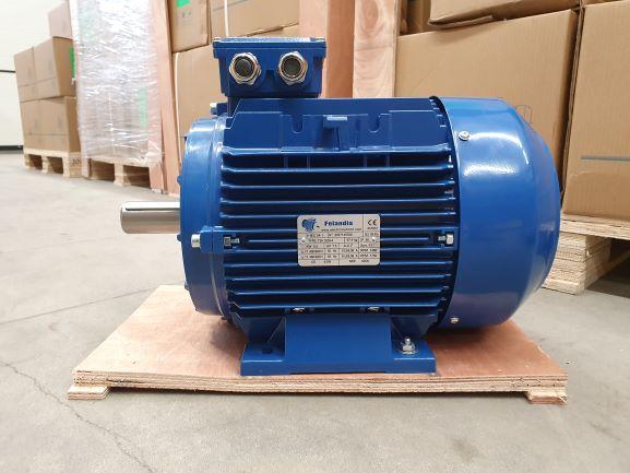 Elektrimootor 5,5kW/1500 p/min T3A 132S-4 B3; IE3; IP55; 400/690V; PTC termistorid 130℃