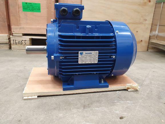 Elektrimootor 3,0kW/1000 p/min T3A 132S-6 B3; IE3; IP55; 230/400V
