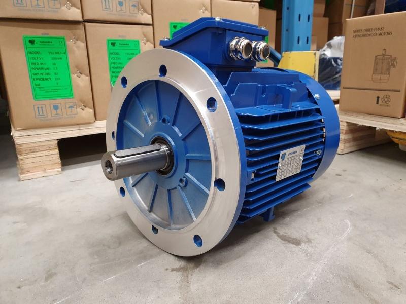 Elektrimootor 7,5kW/3000 p/min T3A 132S2-2 B5; IE3; IP55; 400/690V; PTC termistorid 130℃