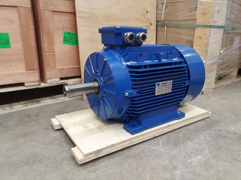 Elektrimootor 15,0kW/1500 p/min T3A 160L-4 B3; IE3; IP55; 400/690V; PTC termistorid 130℃