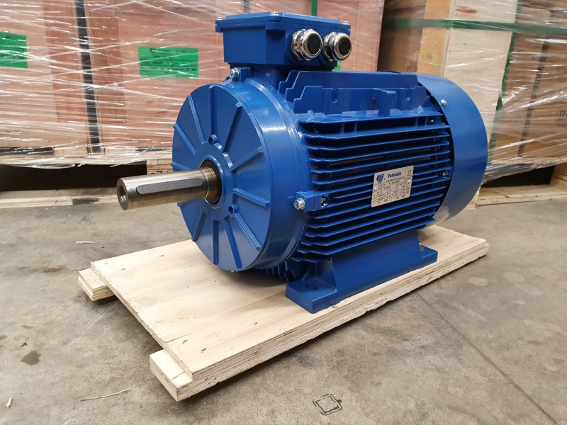 Elektrimootor 22,0kW/3000 p/min T3A 160L2-2 B3; IE3; IP55; 400/690V; PTC termistorid 130℃