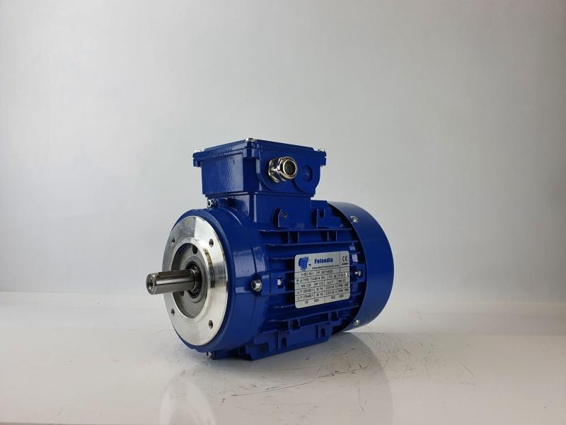 Elektrimootor 0,55kW/1500 p/min T1A 801-4 B14; IE1; IP55; 230/400V