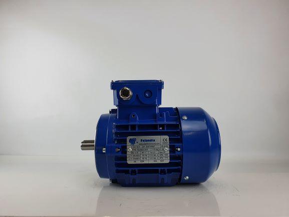 Elektrimootor 0,75kW/1500 p/min T3A 802-4 B14; IE3; IP55; 230/400V