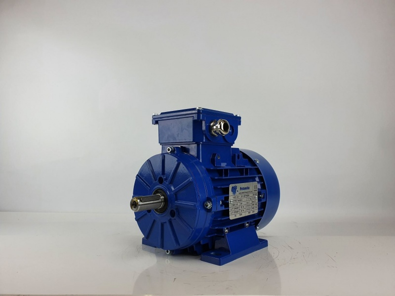 Elektrimootor 0,75kW/1500 p/min T3A 802-4 B3; IE3; IP55; 230/400V