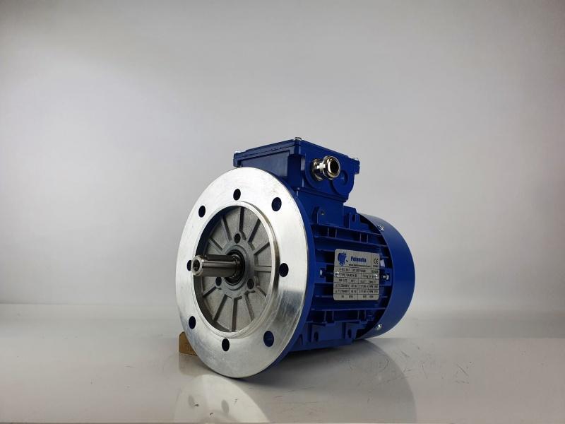 Elektrimootor 0,75kW/1500 p/min T3A 802-4 B5; IE3; IP55; 230/400V