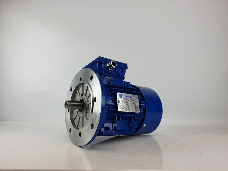 Elektrimootor 1,1kW/1500 p/min T3A 803-4 B5; IE3; IP55; 230/400V