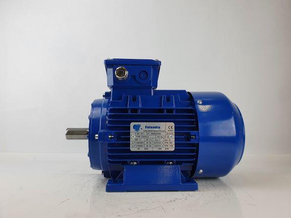 Elektrimootor 1,1kW/1000 p/min T3A 90L-6 B3; IE3; IP55; 230/400V