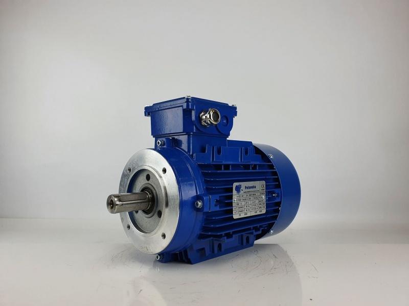 Elektrimootor 1,5kW/1500 p/min T3A 90L1-4 B14; IE3; IP55; 230/400V