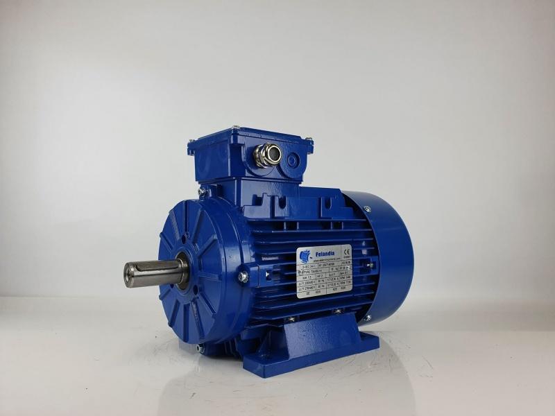 Elektrimootor 1,5kW/1500 p/min T3A 90L1-4 B3; IE3; IP55; 230/400V