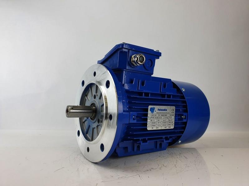 Elektrimootor 1,5kW/1000 p/min T3A 90L2-6 B5; IE3; IP55; 230/400V