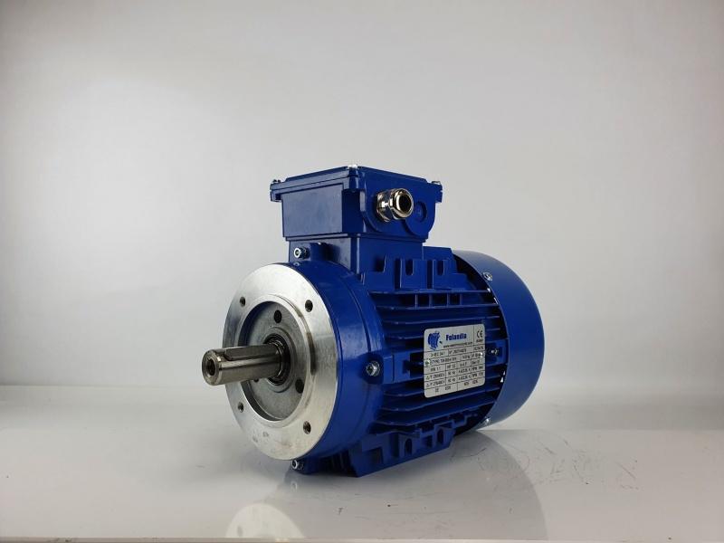 Elektrimootor 1,1kW/1500 p/min T3A 90S-4 B14; IE3; IP55; 230/400V