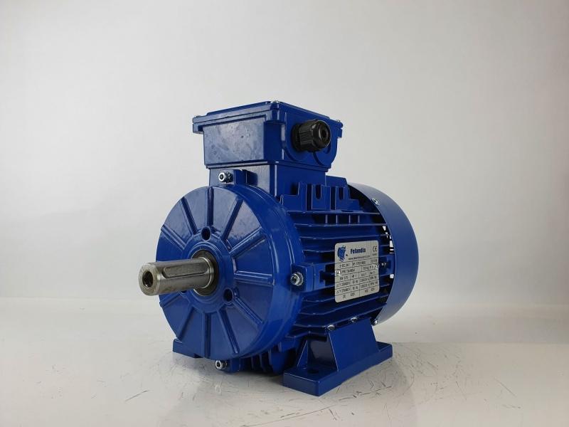 Elektrimootor 0,75kW/1000 p/min T3A 90S-6 B3; IE3; IP55; 230/400V