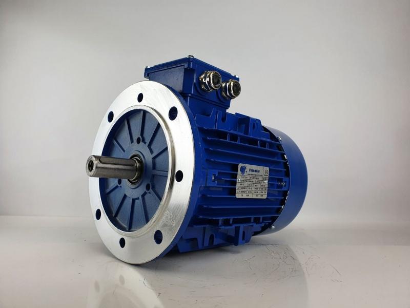 Elektrimootor 4,0kW/1500 p/min T3A 112M-4 B5; IE3; IP55; 400/690V; PTC termistorid 130℃