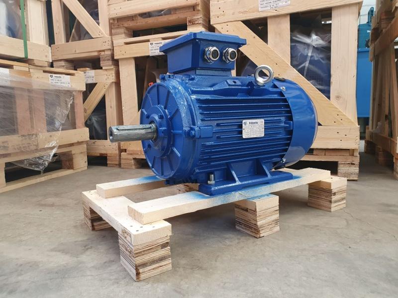 Elektrimootor 18,5kW/3000 p/min T3C 160L-2 B3; IE3; IP55; 400/690V; PTC termistorid 130℃