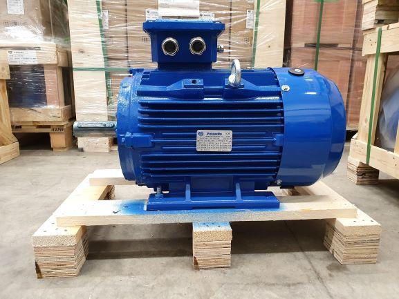 Elektrimootor 15,0kW/1500 p/min T3C 160L-4 B3; IE3; IP55; 400/690V; PTC termistorid 130℃