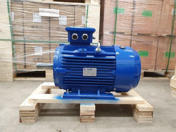 Elektrimootor 11,0kW/1000 p/min T3C 160L-6 B3; IE3; IP55; 400/690V; PTC termistorid 130℃