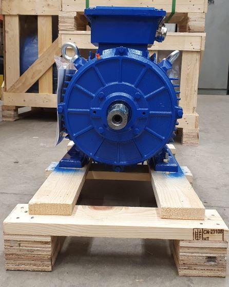 Elektrimootor 11,0kW/1500 p/min T3C 160M-4 B3; IE3; IP55; 400/690V; PTC termistorid 130℃