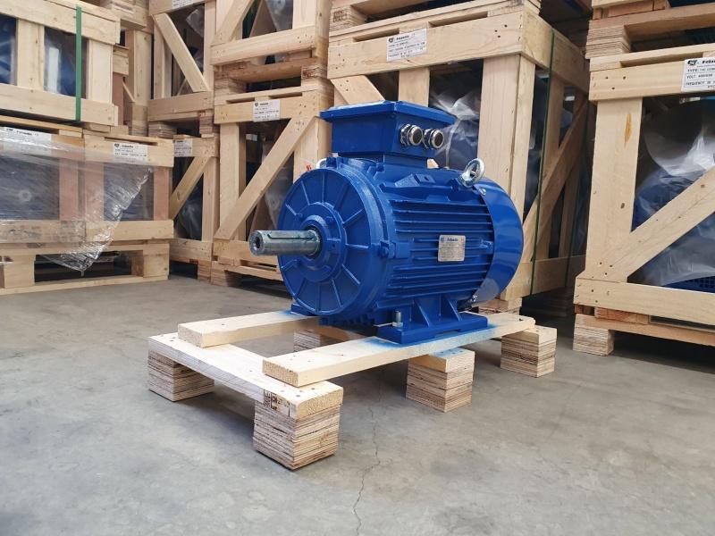 Elektrimootor 11,0kW/3000 p/min T3C 160M1-2 B3; IE3; IP55; 400/690V; PTC termistorid 130℃