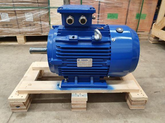 Elektrimootor 15,0kW/3000 p/min T3C 160M2-2 B3; IE3; IP55; 400/690V; PTC termistorid 130℃