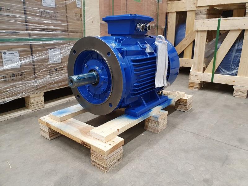 Elektrimootor 22,0kW/1500 p/min T3C 180L-4 B35; IE3; IP55; 400/690V; PTC termistorid 130℃
