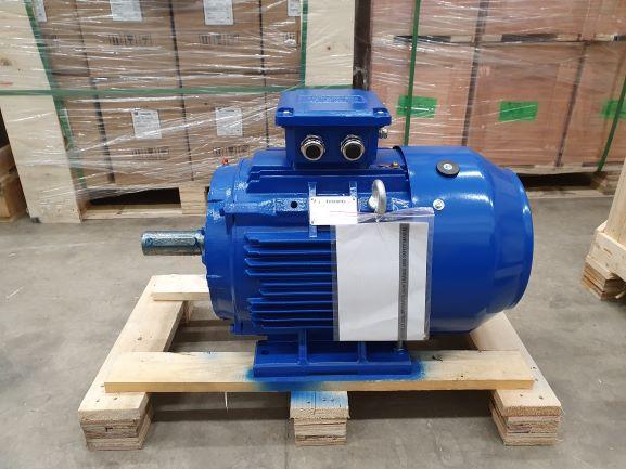 Elektrimootor 22,0kW/3000 p/min T3C 180M-2 B3; IE3; IP55; 400/690V; PTC termistorid 130℃