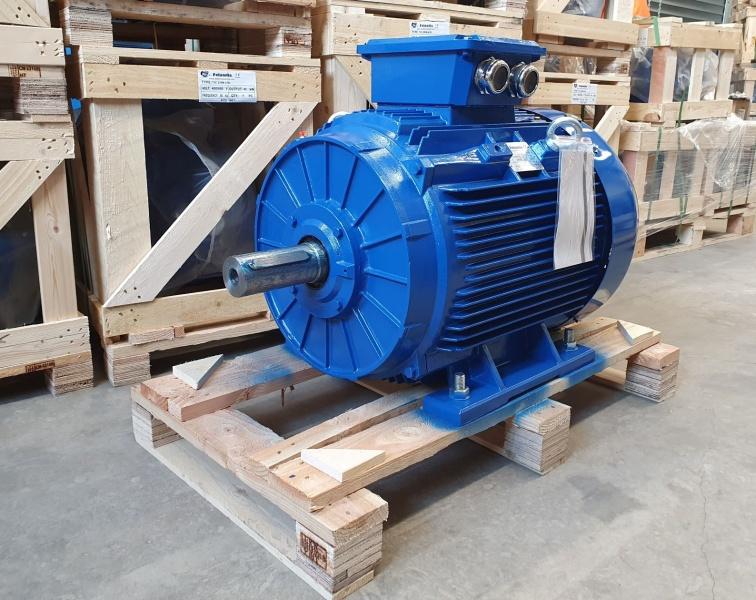 Elektrimootor 55,0kW/1500 p/min T3C 250M-4 B3; IE3; IP55; 400/690V; PTC termistorid 130℃