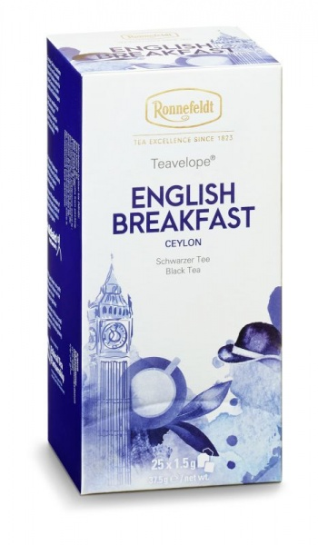 Ronnefeldt ümbrikutee English Breakfast 25tk