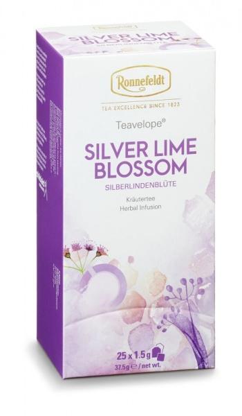 Ronnefeldt ümbrikutee Silver Lime Blossom 25tk