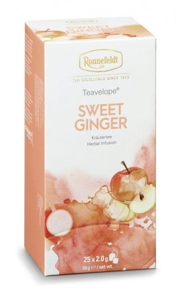 Ronnefeldt ümbrikutee Sweet Ginger 25tk