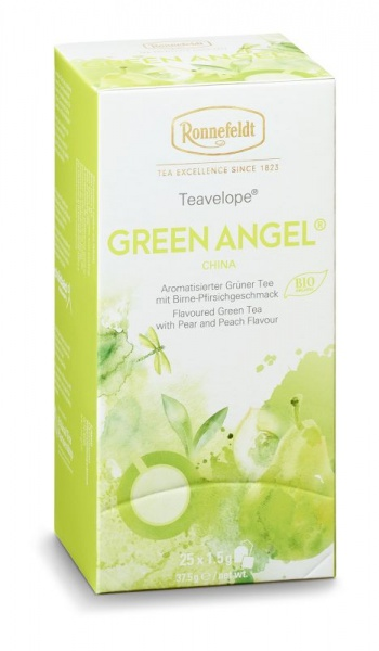 Ronnefeldt ümbrikutee Green Angel Organic 25tk