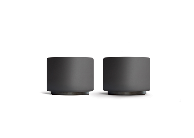 Fellow Monty Cups (2) for espresso in matte black (90ml)