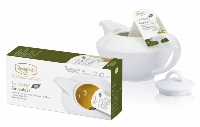 Ronnefeldt Tea-Caddy Greenleaf Organic 20 servings