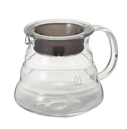 Hario kohvi serveerimise kann Klaasist