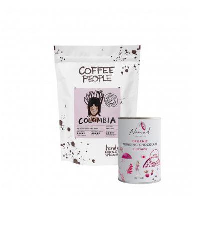 Kombo ROOSA L.R Inga Aponte 500g + Nomad roosa kakao Ruby Bliss 200g