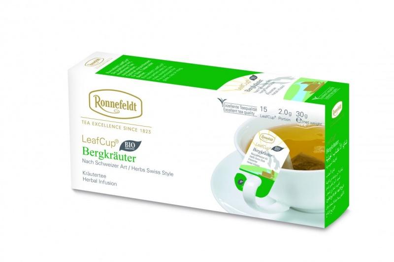 Ronnefeldt LeafCup Bergkräuter Organic 15tk