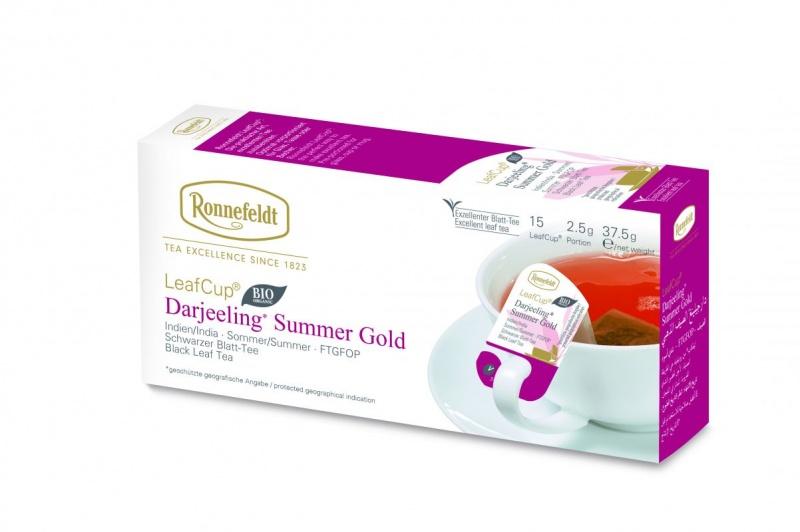 Ronnefeldt LeafCup Darjeeling Summer Gold Organic 15tk
