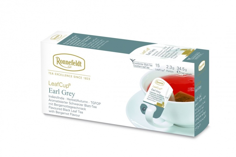 Ronnefeldt LeafCup Earl Grey 15 servings