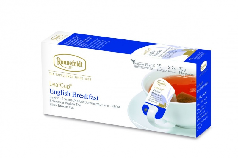 Ronnefeldt LeafCup English Breakfast 15tk