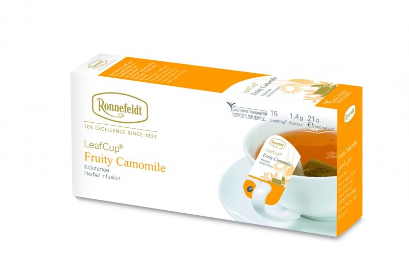 Ronnefeldt LeafCup Fruity Camomile 15 servings