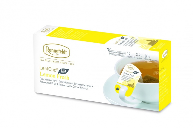 Ronnefeldt LeafCup Lemon Fresh Organic 15 servings
