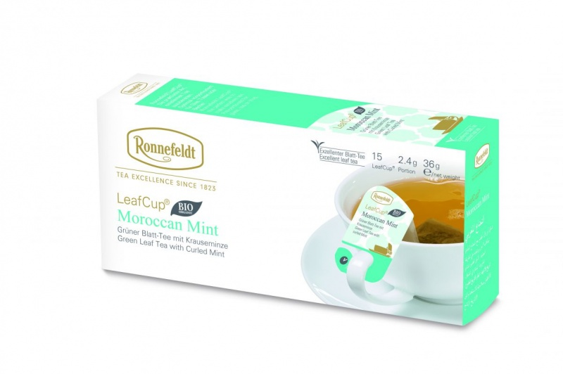 Ronnefeldt LeafCup Moroccan Mint Organic 15 servings