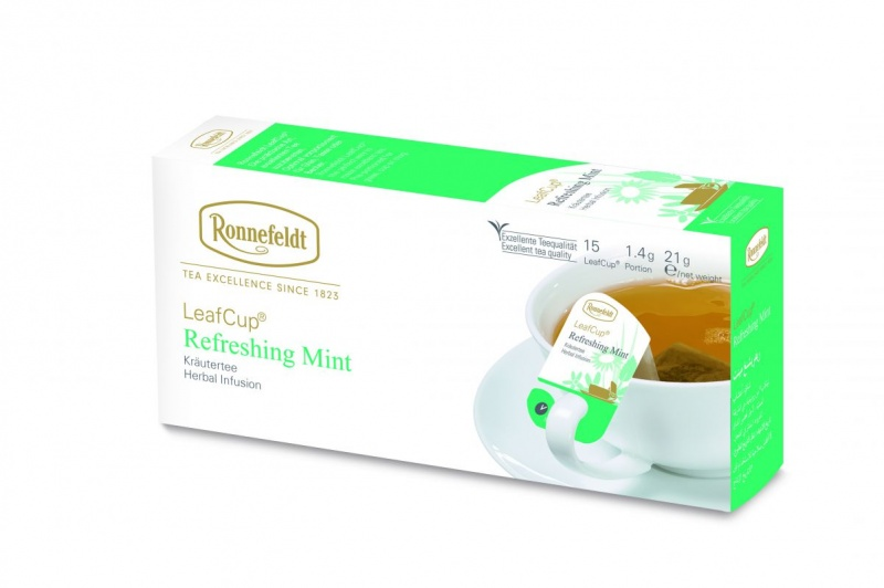 Ronnefeldt LeafCup Refreshing Mint 15 servings