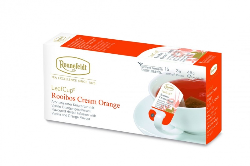 Ronnefeldt LeafCup Rooibos Cream Orange 15tk