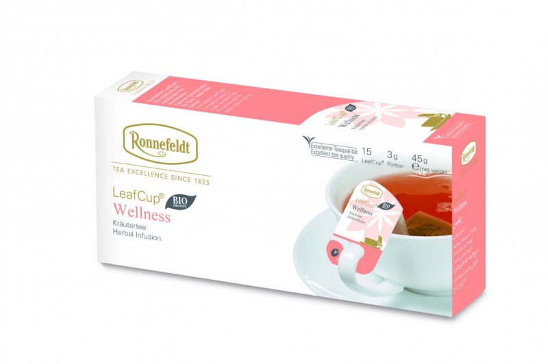 Ronnefeldt LeafCup Wellness Organic 15tk