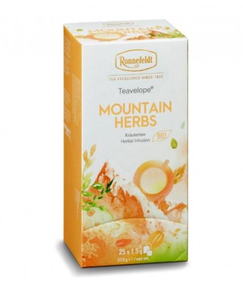 Ronnefeldt ümbrikutee Mountain Herbs Organic 25tk