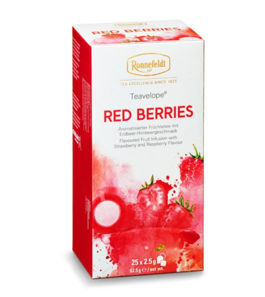 Ronnefeldt ümbrikutee Red Berries 25tk