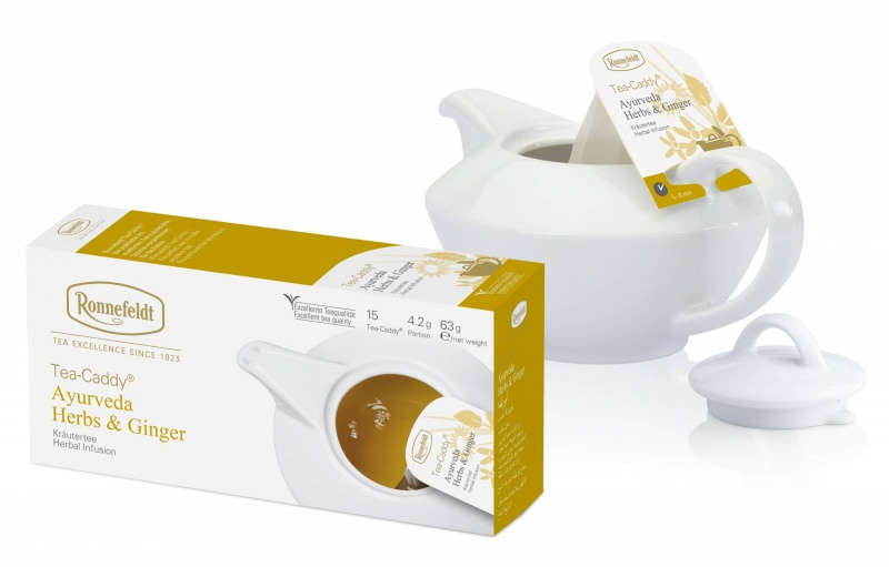 Ronnefeldt Tea-Caddy Ayurveda Herbs & Ginger 15 servings