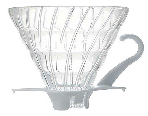 Hario filtrihoidja klaasist Valge