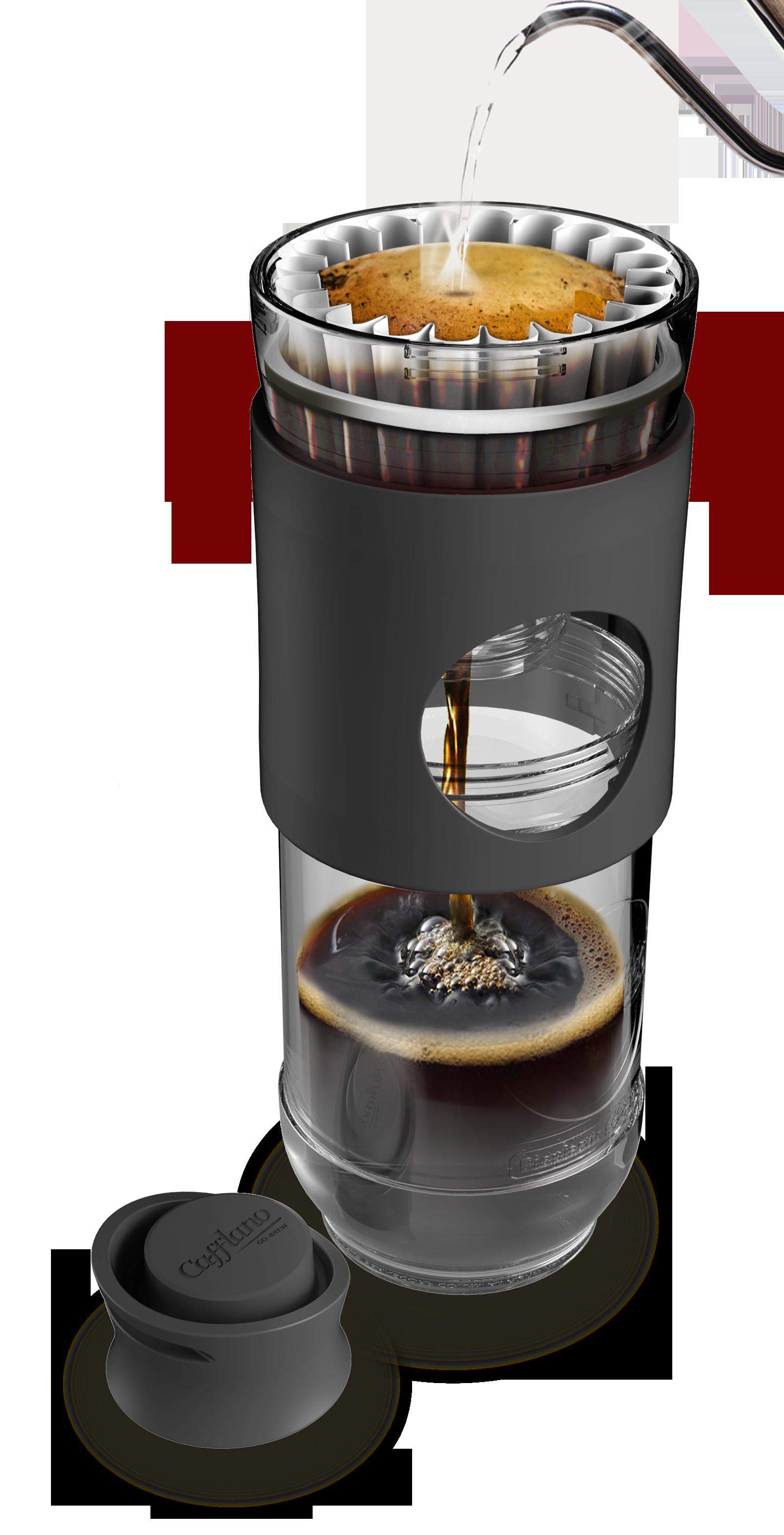 Cafflano Go-Brew Black